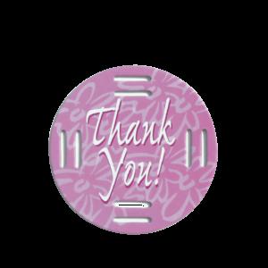 Thank You Purple Fobbie