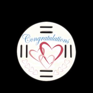 Congratulations Hearts Fobbie